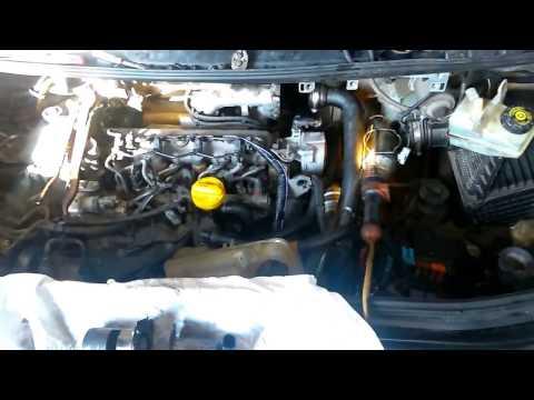 Рено трафик 2009 г отключить лампочку ключик мотор 2 0