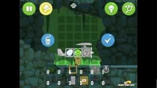 Bad Piggies Flight in the Night Bonus Level 4-VIII Walkthrough 3 Star