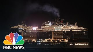 Cruise Ship At Center Of Coronavirus Scare Sparks Anger After Docking At Mexican Resort | NBC News