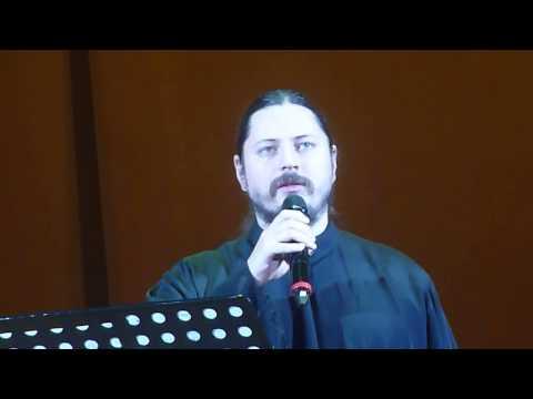 Иеромонах Фотий - Молитва из к/ф Мусорщик - ХХС 21.10.2016