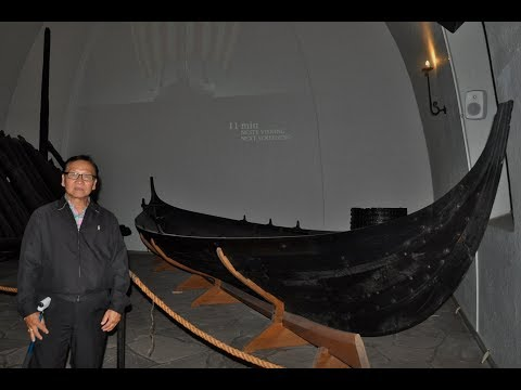 Sam Laksanasut World Travel. Viking Ship Museum, in Oslo, Norway. 4K