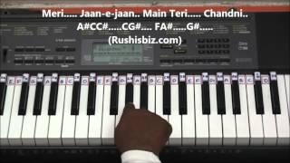 Yeh Haseen Vadiyaan Piano Tutorials - Roja (Hindi)
