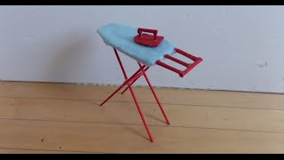 How to Make a Doll Ironing Board