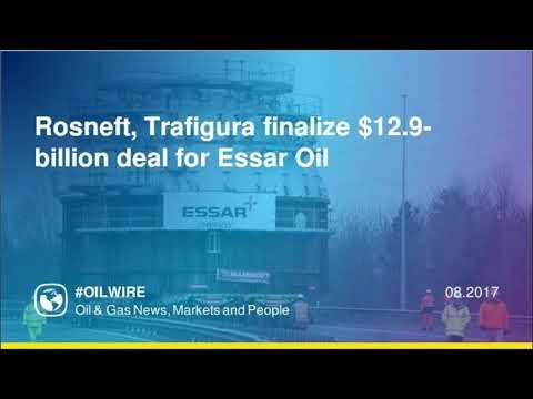 Rosneft, Trafigura finalize $12.9-billion deal for Essar Oil