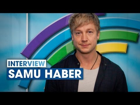 Interview: Samu Haber from Sunrise Avenue at Radio Regenbogen