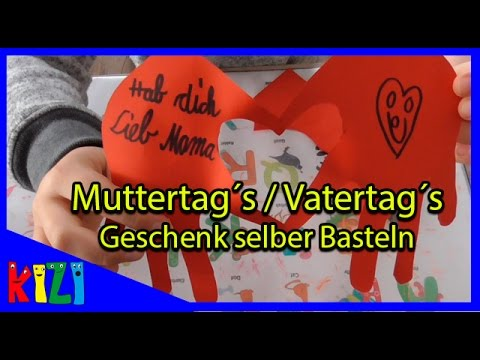 kinderleichtes muttertag oder vatertag geschenk selber basteln diy bastelideen deutsch youtube. Black Bedroom Furniture Sets. Home Design Ideas