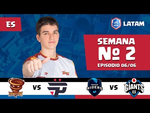 CRL LATAM: Sandstorm vs Pain Gaming | Movistar Riders vs Giants Gaming