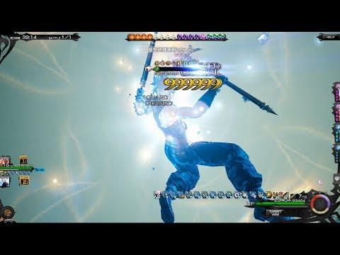 Mobius FF (JP) - Omnislash X Magic Sword 1-Hit-KO