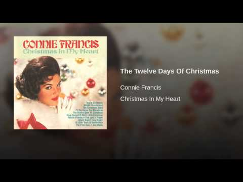 Connie Francis The Twelve Days Of Christmas.The Twelve Days Of Christmas Lyrics
