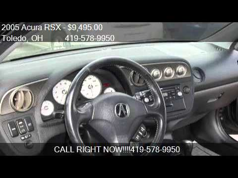 Acura RSX Base WLeather Dr Hatchback For Sale In Tole YouTube - 2005 acura rsx base