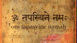 39 om tapasvine namaha   salutations to the austere ascetic
