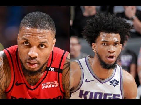Damian Lillard, Marvin Bagley III trade diss tracks on NBA Draft night