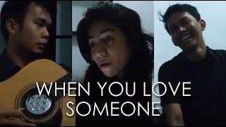 Vinny, Petra, Sona - When you love someone (Endah N Rhesa Cover)