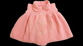 Kız Bebek Elbisesi Nasıl Yapılır? (Baştan Sona Anlatım) - bebek örgü modelleri