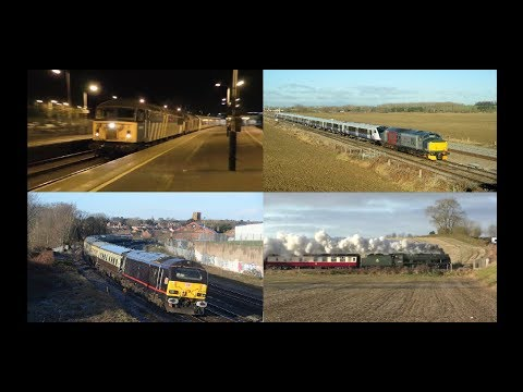Midlands Motive Power Highlights   December 2017 HD