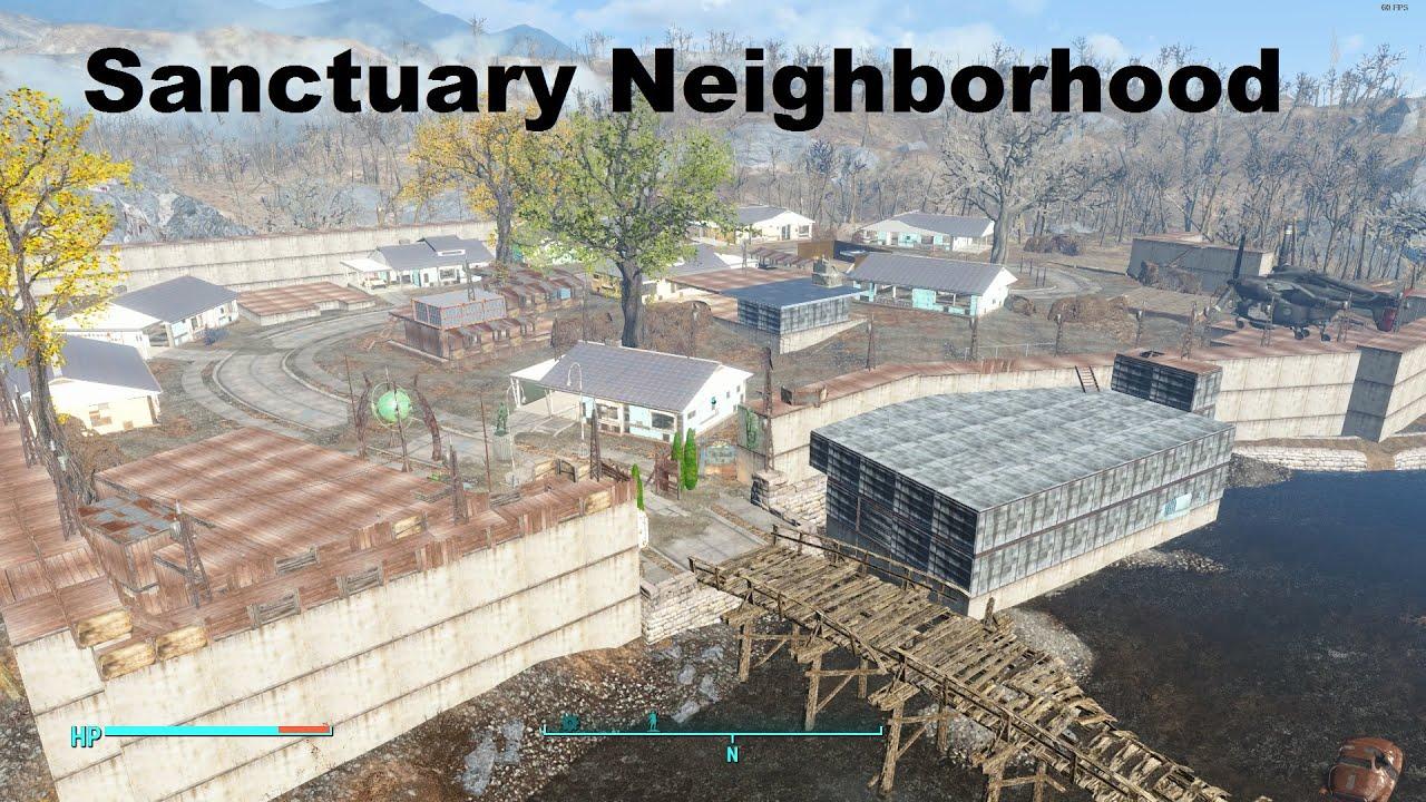 Fallout 4 Sanctuary Neighborhood 2 0 Youtube