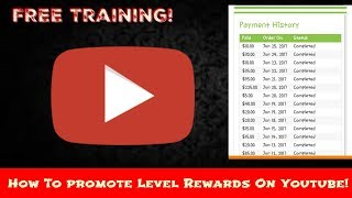 Level Rewards Training | How To Promote Level Rewards On Youtube| Level Rewards