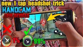 [Low Devices] 1 Tap Headshot Trick HANDCAM - M1014 & M1887