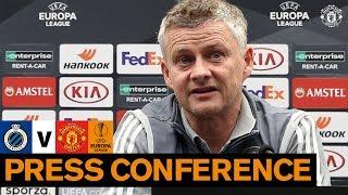 Pre-Match Press Conference   Club Brugge v Manchester United   UEFA Europa League