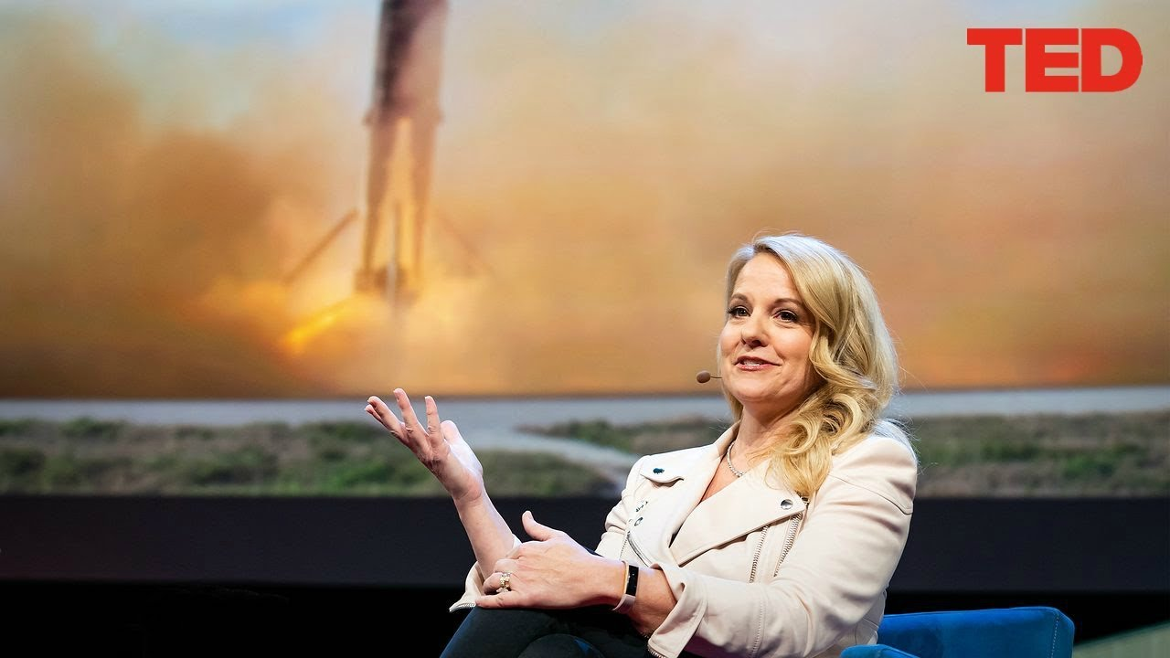 SpaceX 2018 Ted Talk - SpaceX's Plan To Fly You Across The Globe In 30 Minutes