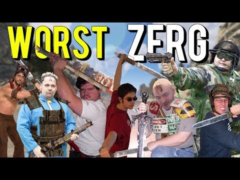 The worst ZERG in recorded history (Rust) thumbnail