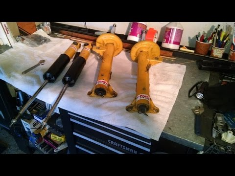 Bmw Koni Yellow Double Adjustable Shocks By Froggy Youtube