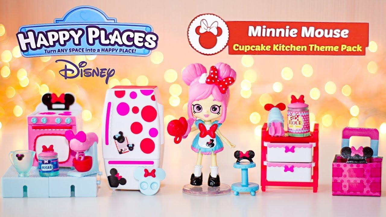 DISNEY Happy Places Minnie Mouse Cupcake Kitchen Theme ...