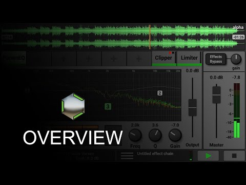 Caustic Mastering App - Overview