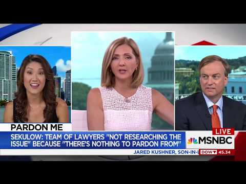 Michael Allen on MSNBC Live with Chris Jansing (7/24/2017)