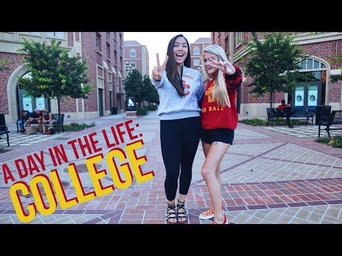 A DAY IN THE LIFE AT COLLEGE: USC