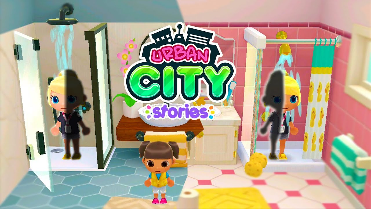 Download Urban City Stories   Shower Teleportation Episode   Cute Little Games