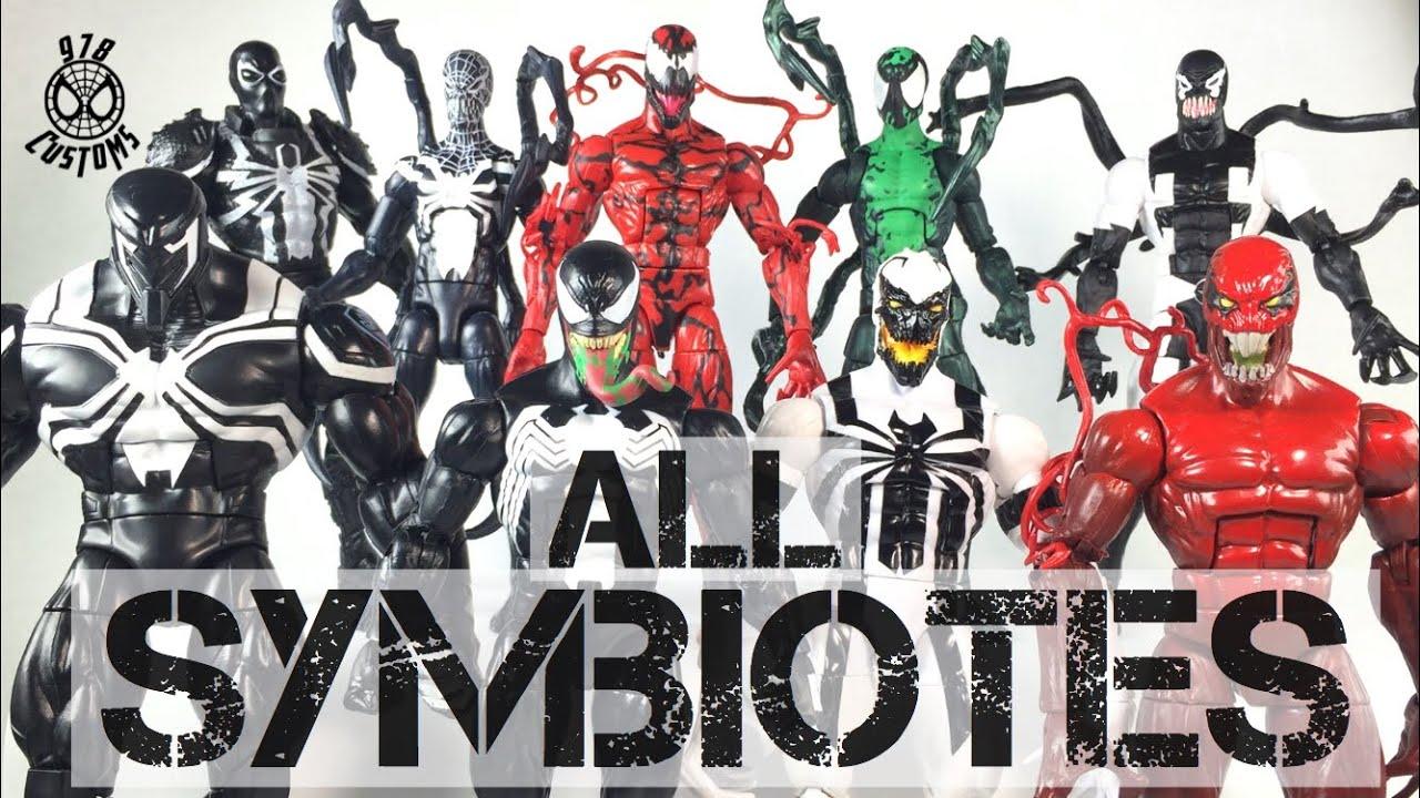 "Every Symbiote Marvel Legends Venom 6"" action figure ..."