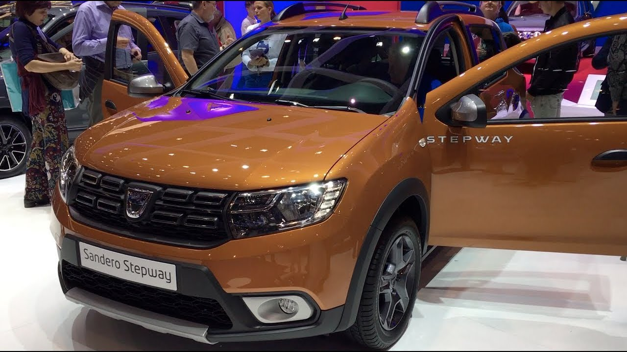 Dacia sandero stepway 2017 in detail review walkaround for Dacia sandero interior