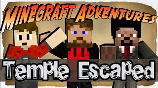 Minecraft Adventures: Indiana Jones #2 - TEMPLE ESCAPED
