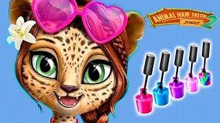 Fun Animals Jungle Pets Care - Animal Hair Salon Color, Style, Makeup, Dress Up