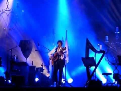 """Laurent VOULZY """"Changer le Monde"""" concert dans le Perche à l'abbaye de THIRON-GARDAIS"""