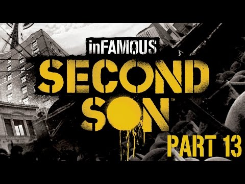 InFAMOUS: Second Son Walkthrough - Part 13 - Follow Fetch's Clues - (Guardian) (PS4) (1080p)