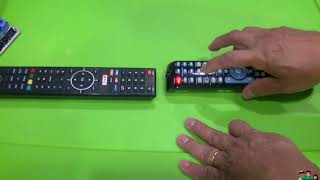 Assigning Youtube Vudu Netflix Custom Channels on RCA Universal Remote