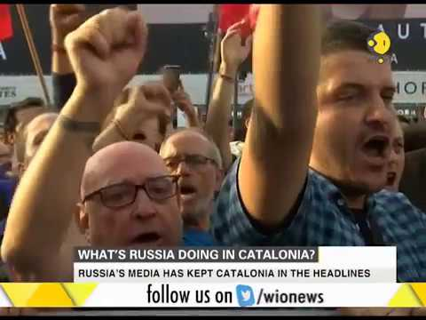 What's Russia doing in Catalonia?