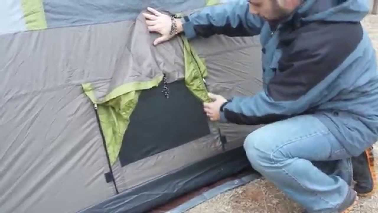 Ozark trail 3 room 10x20 family tent with tent air conditioner. - YouTube & Ozark trail 3 room 10x20 family tent with tent air conditioner ...