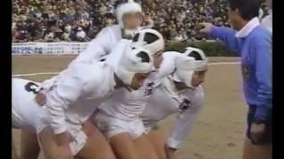 天理vs日川 第70回全国高校ラグビー大会準決勝 1990年