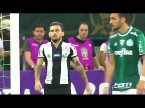 Palmeiras Vs Santos - Brazilian Serie A - Highlights & Goals