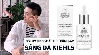 TTL | Review Tinh chất làm sáng trị thâm Kiehls Clearly Corrective™ Dark Spot Solution
