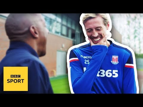 Peter crouch is super honest about being a substitute - bbc sport