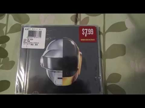 [4K] Unpacking Daft Punk Random Access Memories Audio CD