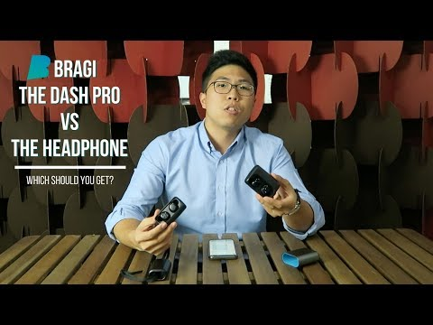 Bragi Dash Pro & Headphone