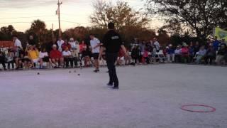 Jean Francois Hemon vs Dylan Rocher at Petanque America Open 2013