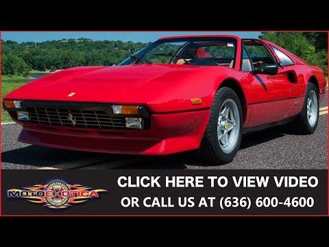 1984 Ferrari 308 GTS QV    SOLD