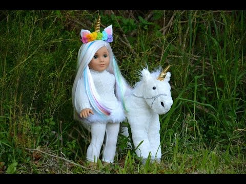 American Girl Unicorn Doll~Fixing Up A Retired AG Doll