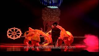 Mythical story of Buddha told through a dance drama
